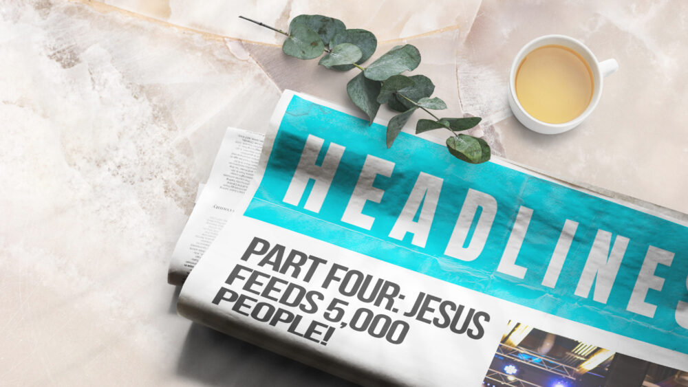 Part 4 | Jesus Feeds 5,000 People! Image